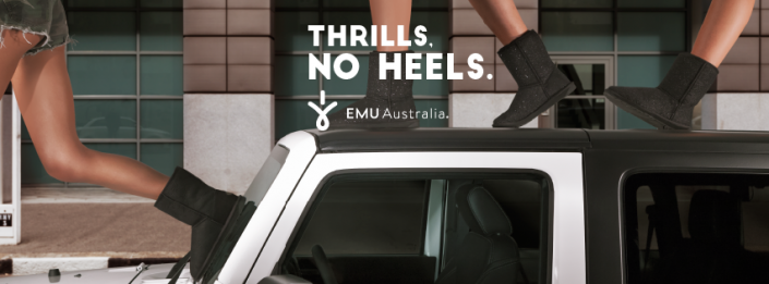 EMU Thrills No Heels